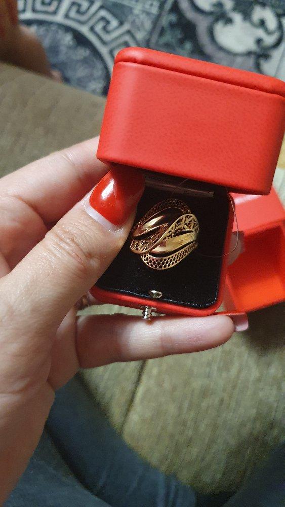 Золотое кольцо для мамы.