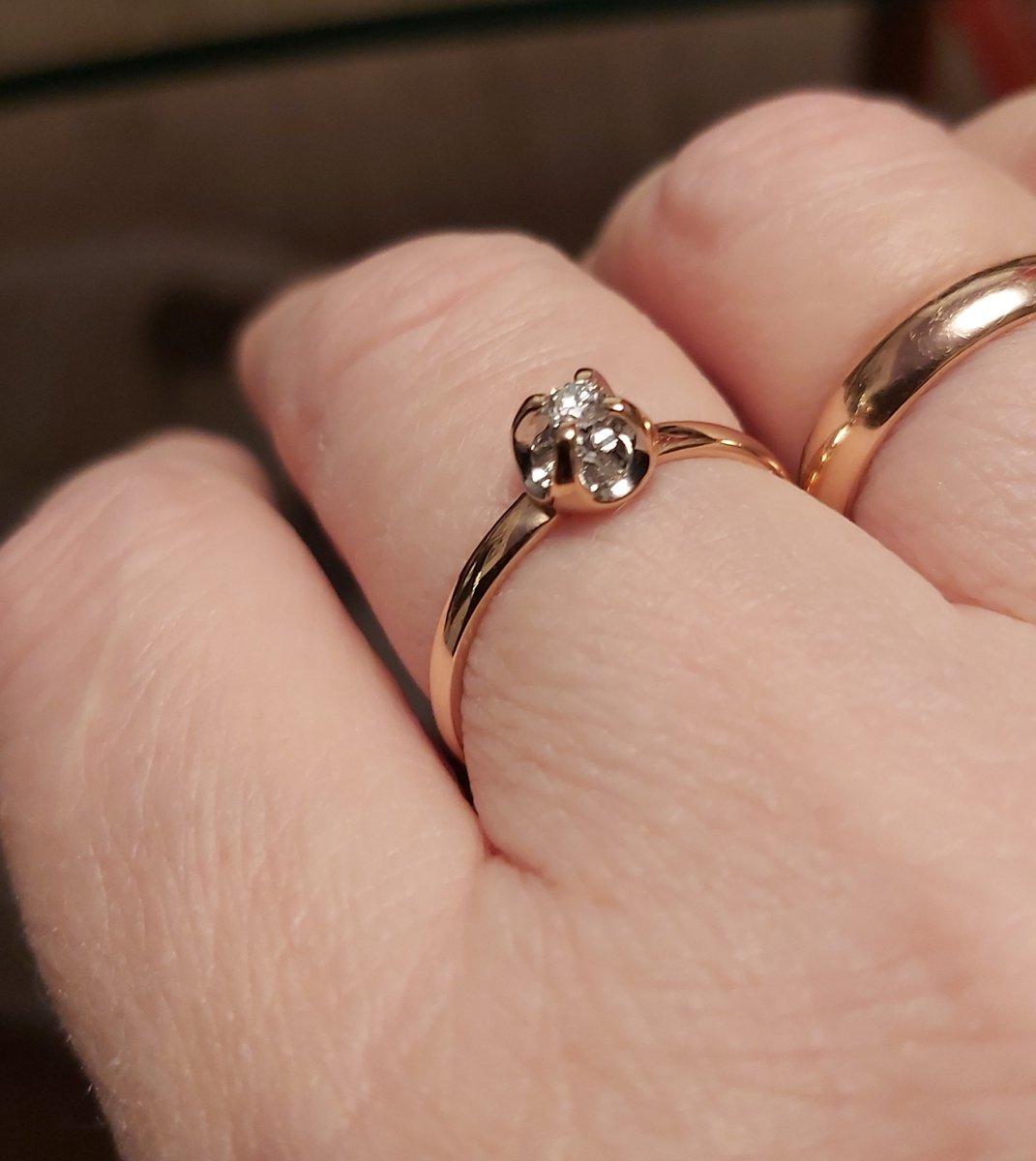 Мой второй бриллиантик!