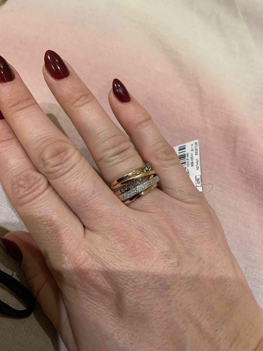 Очень довольна покупкой!кольцо просто огонь.сделала себе подарок.