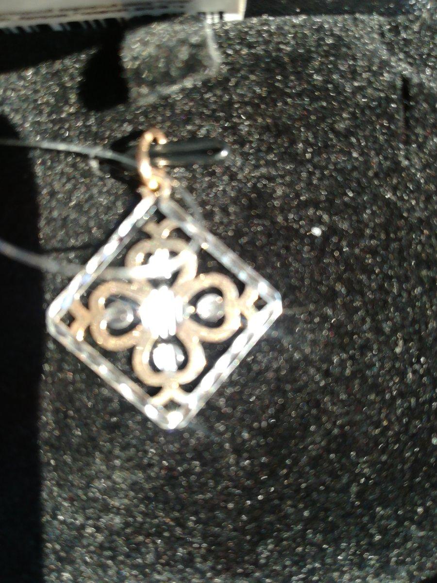 Подвеска с алмазной огранкой