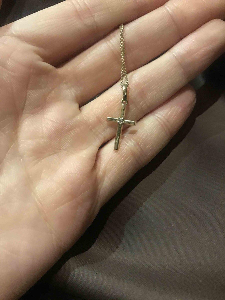Маленький лаконичный крестик