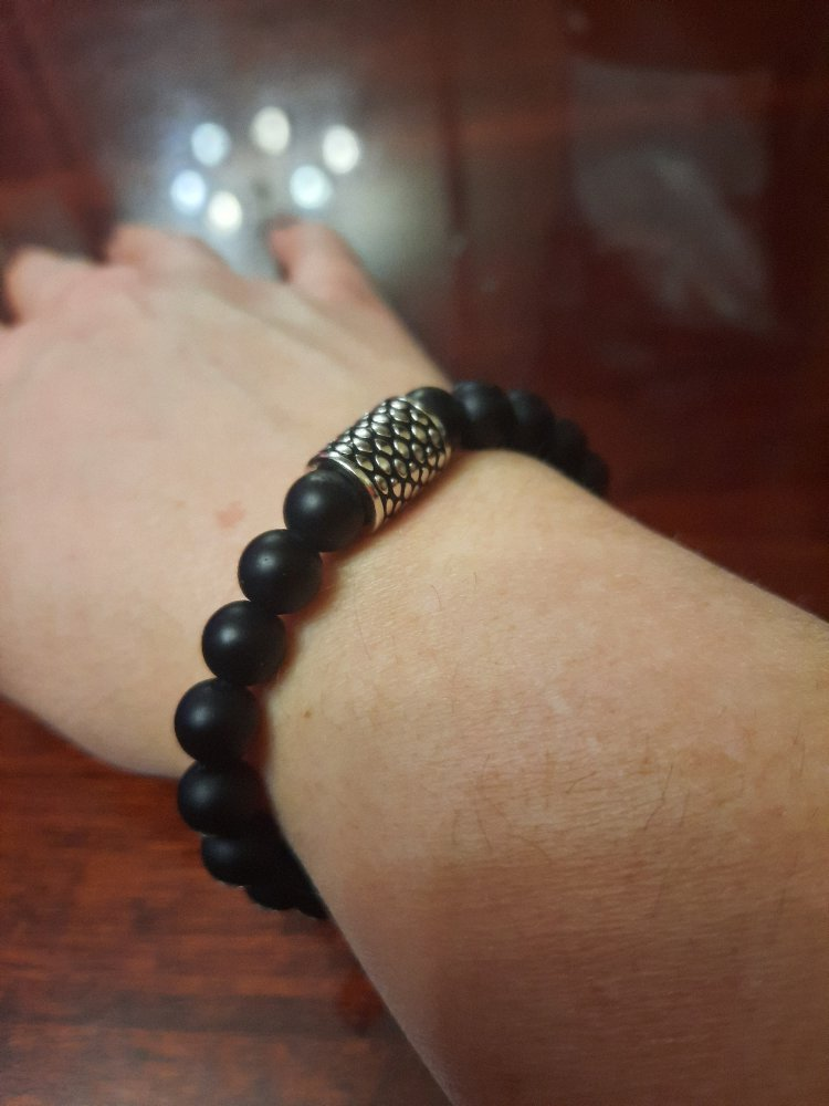 Черный агат в серебре - вне времени и моды
