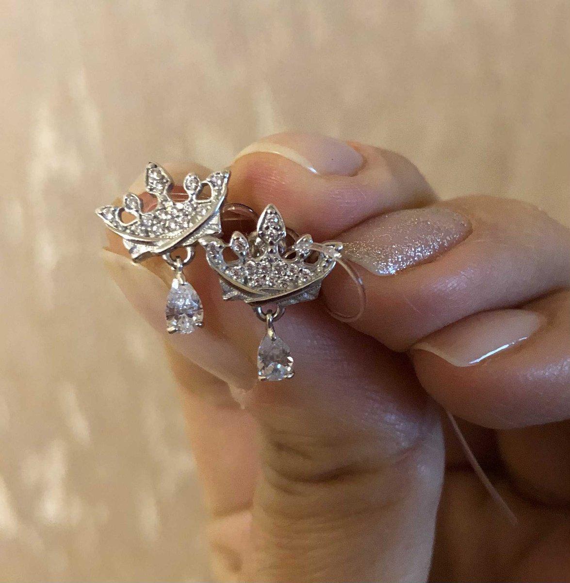 Серьги корона