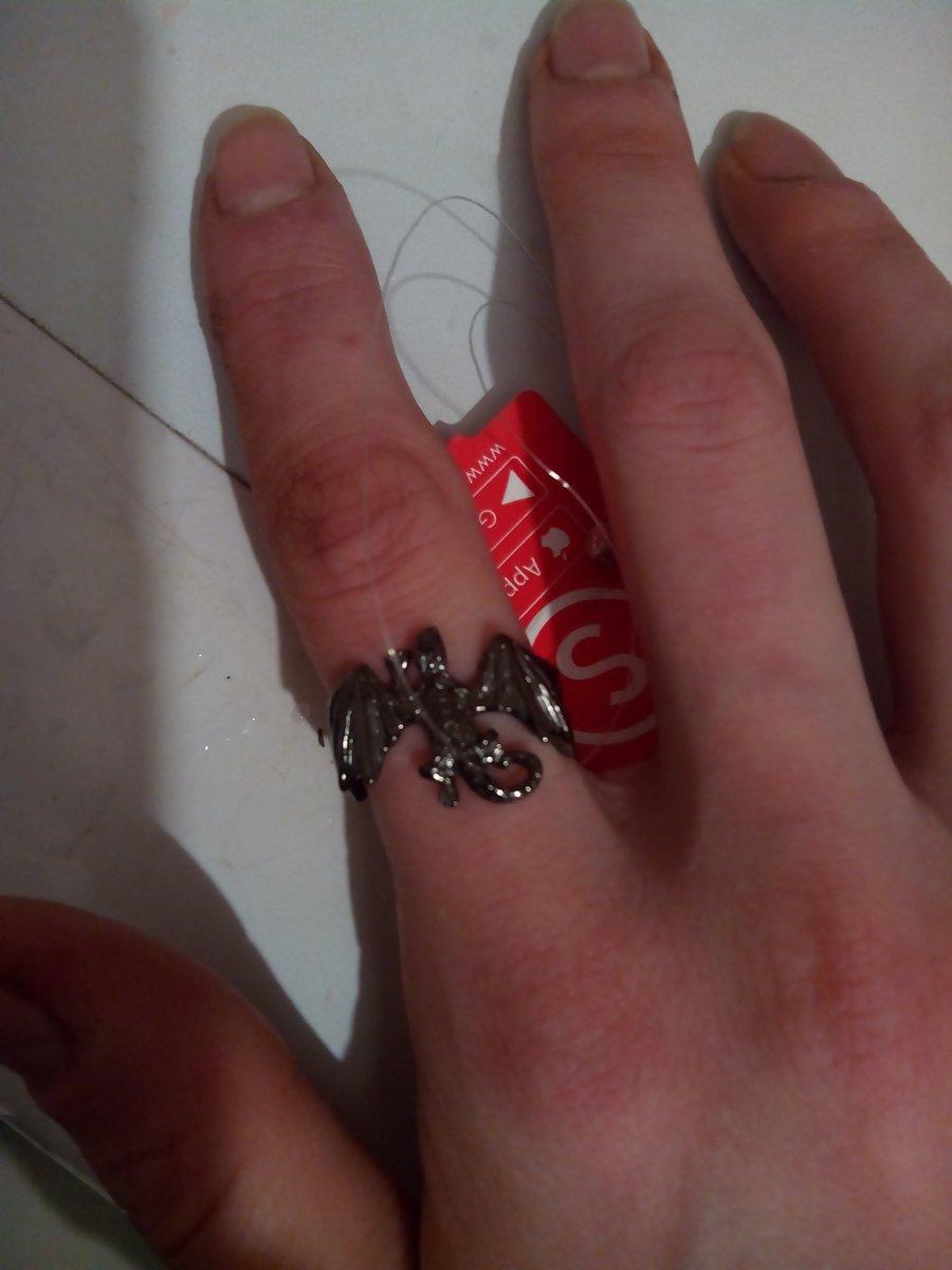 Кольцо-дракон.
