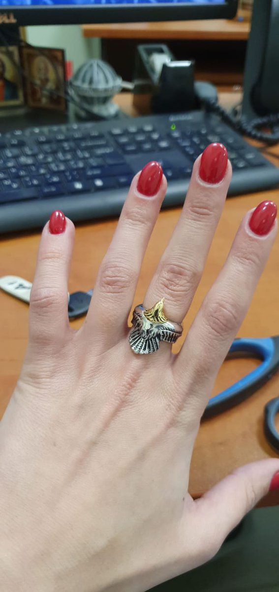 Кольцо феникс