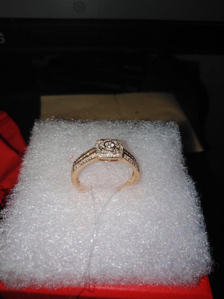 Купил замечательное кольцо для предложения