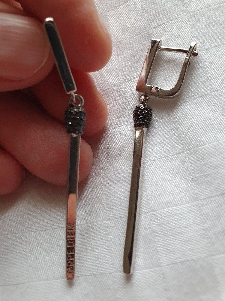 Серебряные серёжки