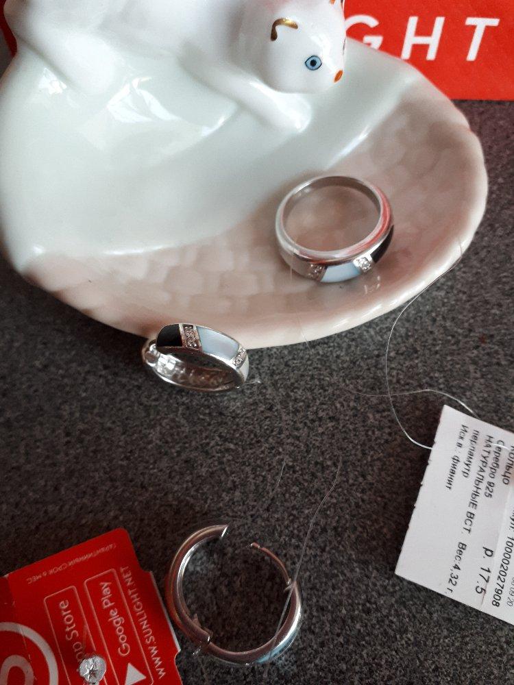 Серебряные серьги с перламутром и фианитами-стильно, красиво, роскошно!!!