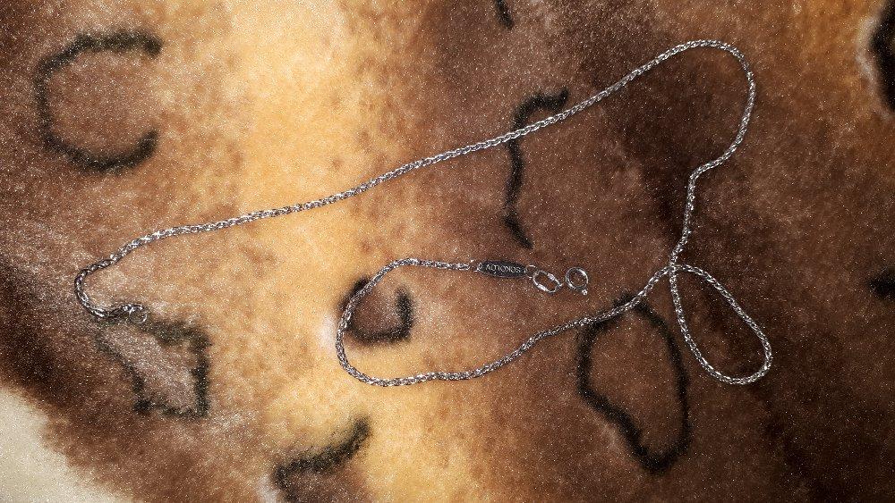 Цепочка серебряная от соколов