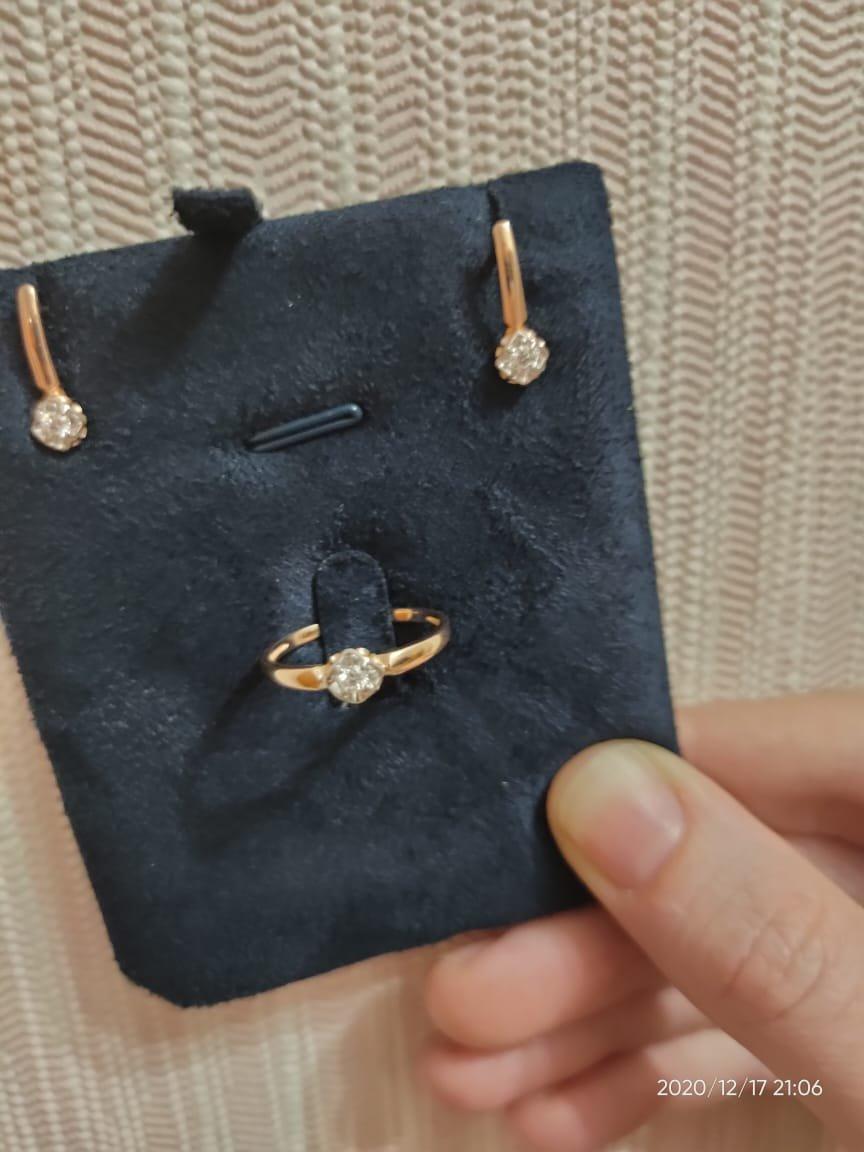 Мой первый набор с бриллиантом