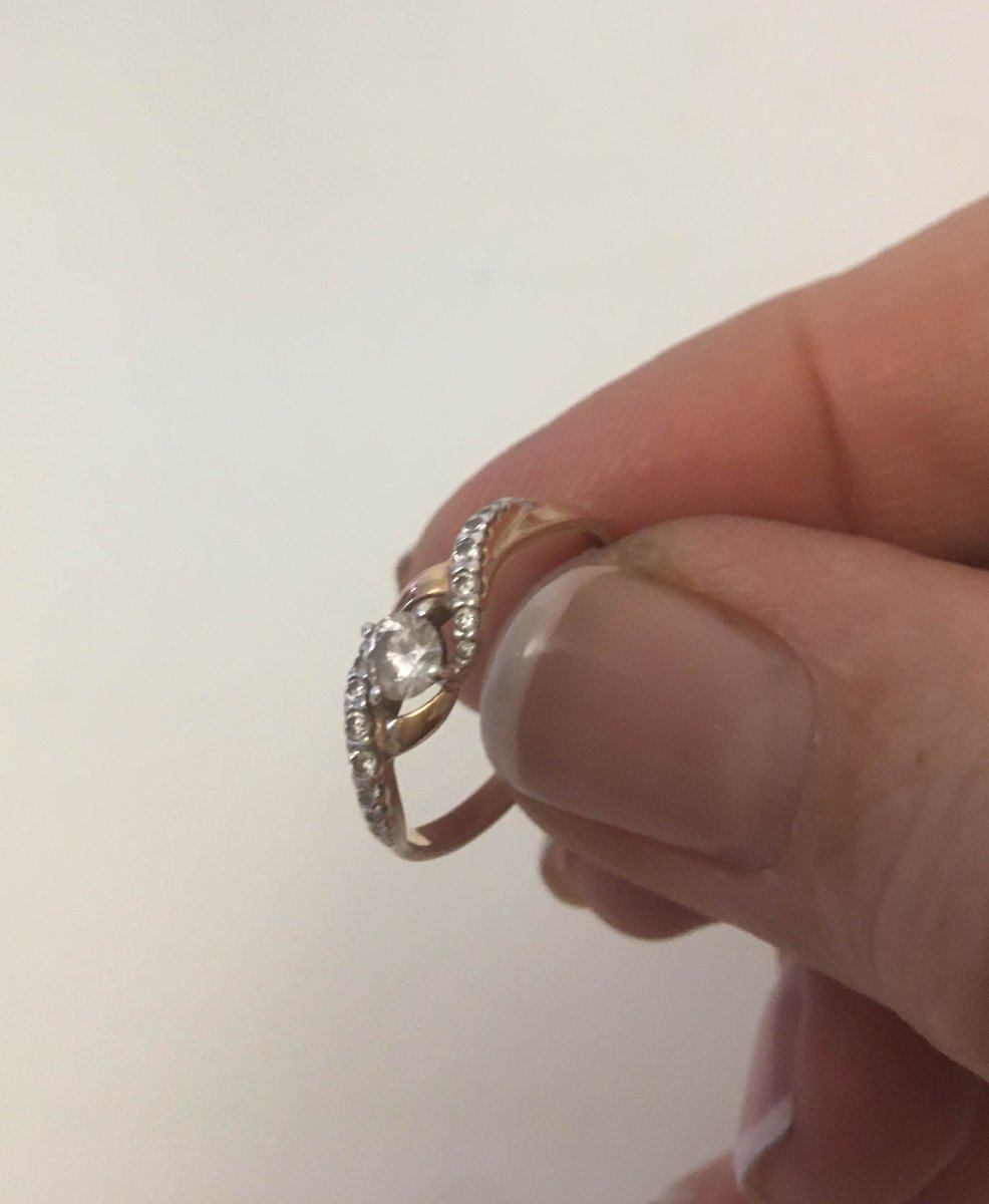 Серебреное кольцо sokolov .