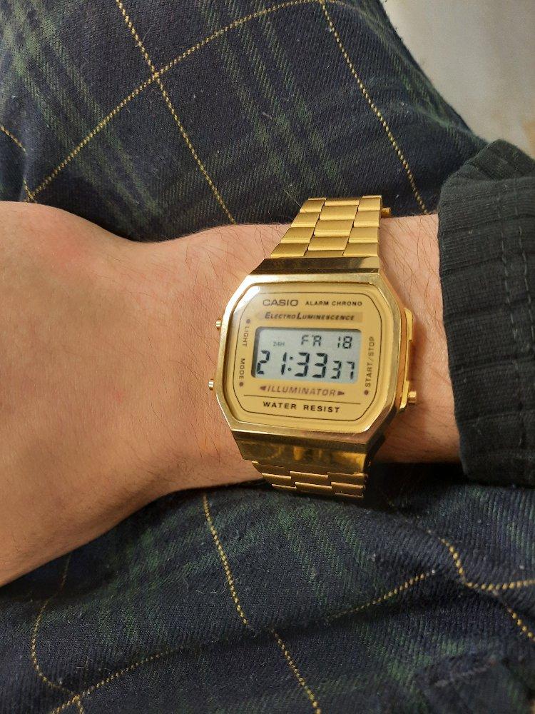 Часы касио из санлайта