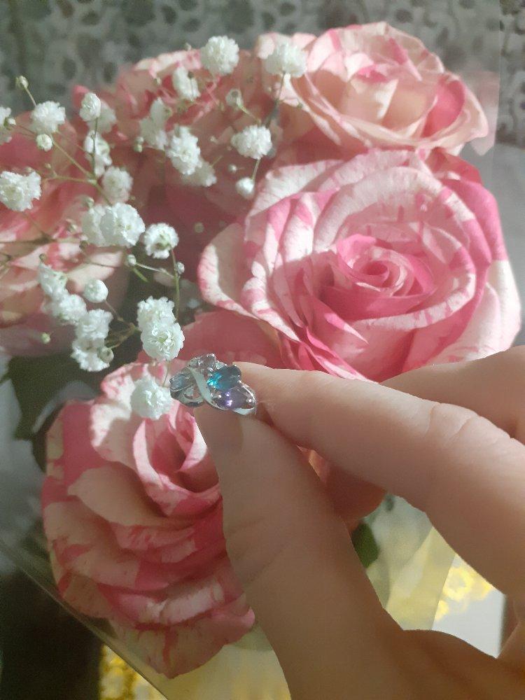 Теперь мое любимое кольцо, радует глаз