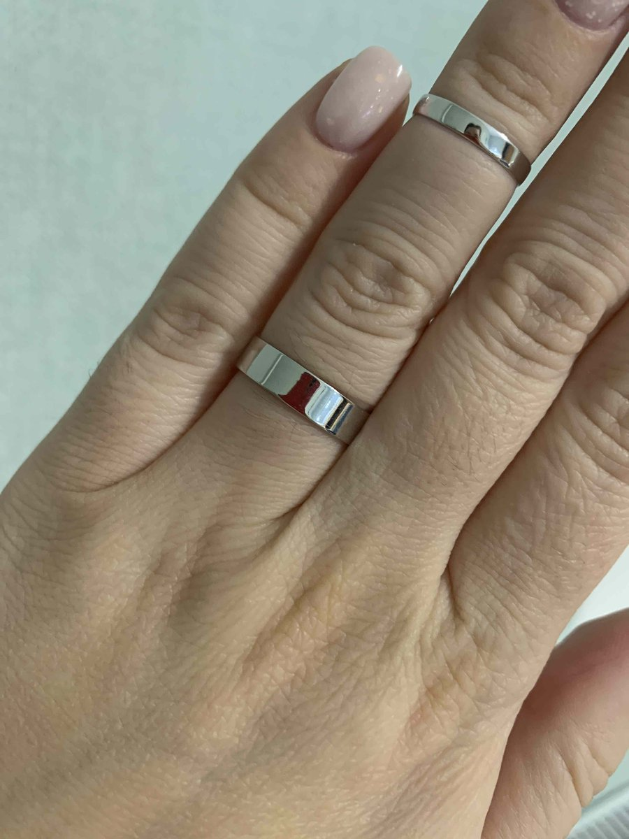Кольцо в стиле минимал