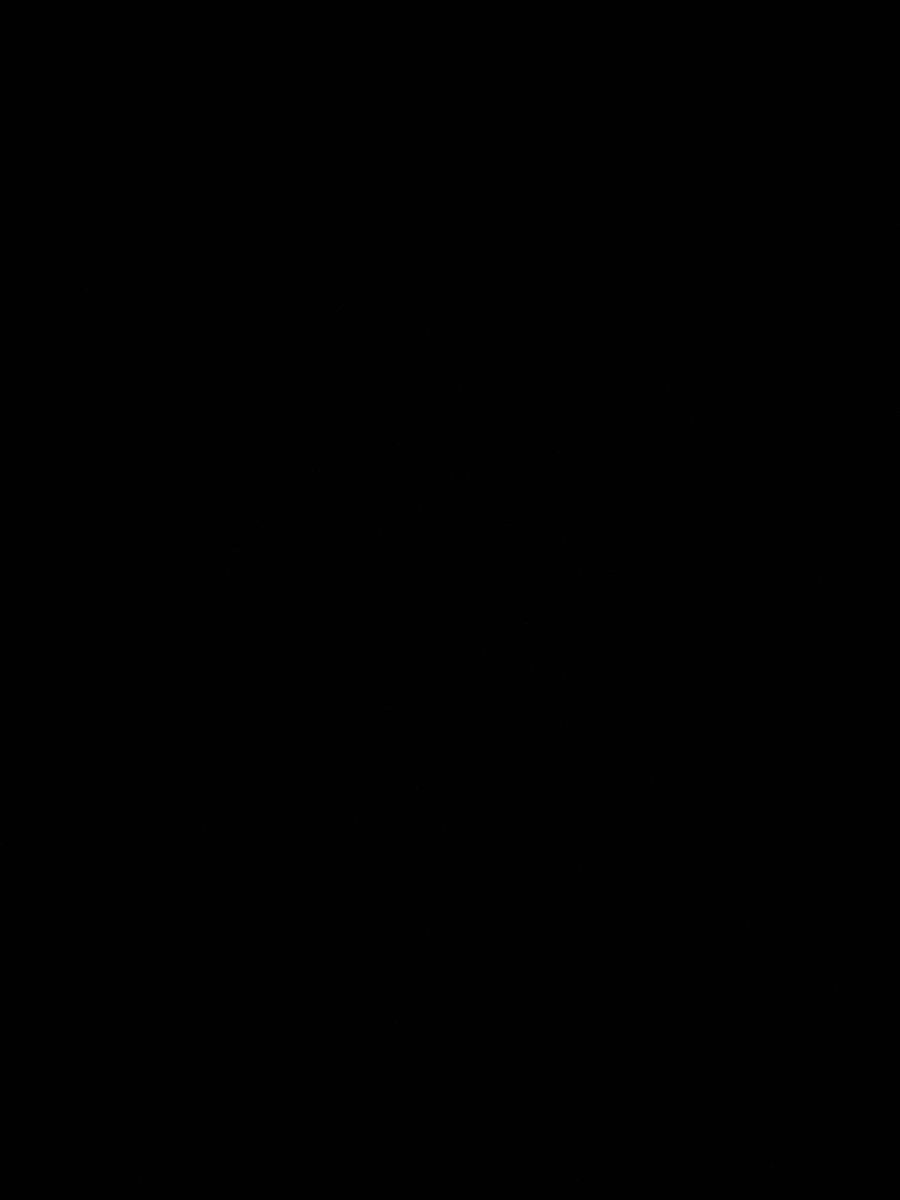 Серебряная серьга