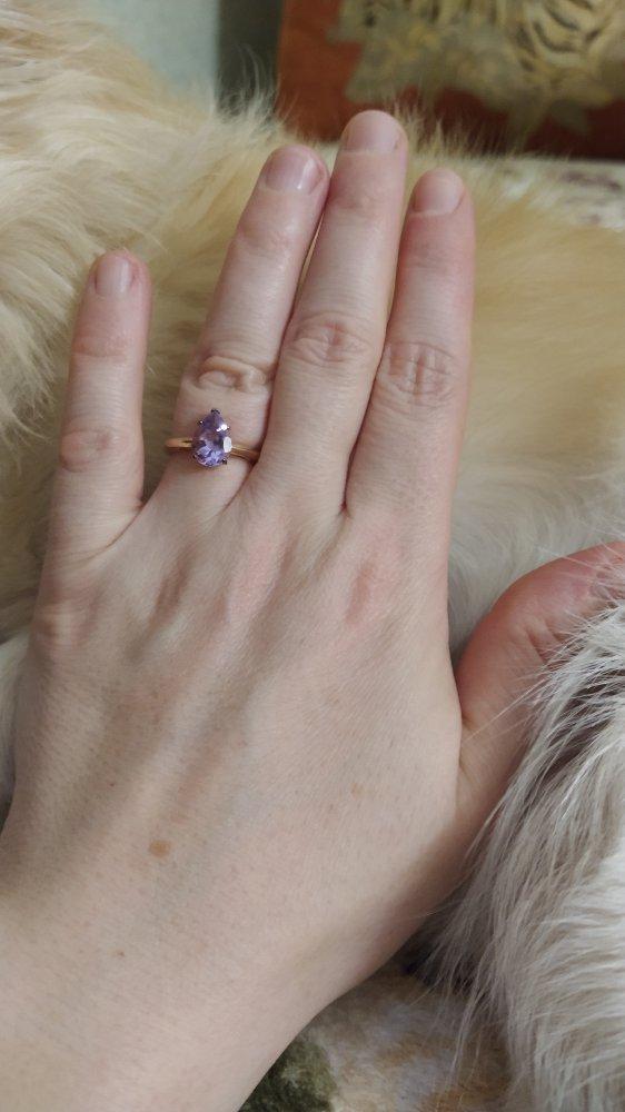 Кольцо красивое!
