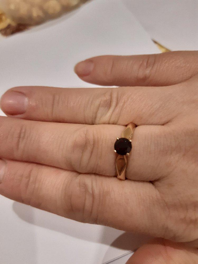 Кольцо с граном