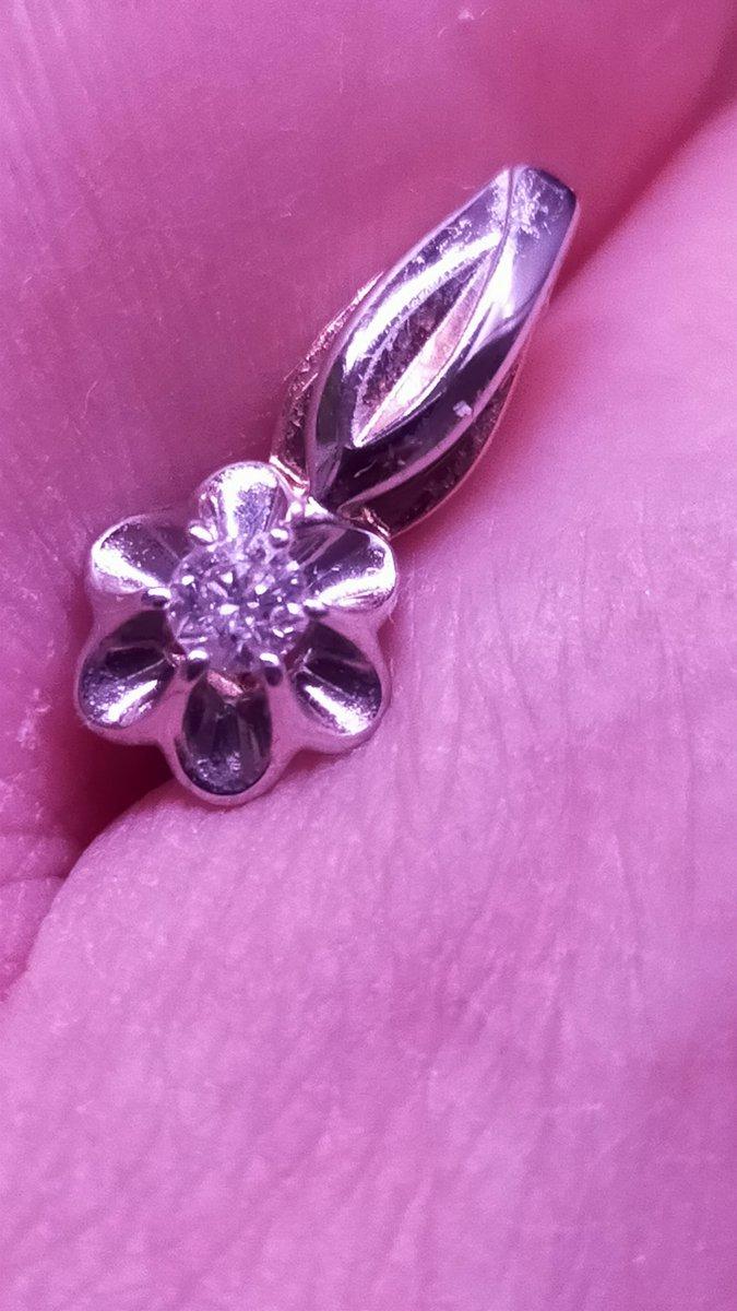 Серьги, якутский бриллиант