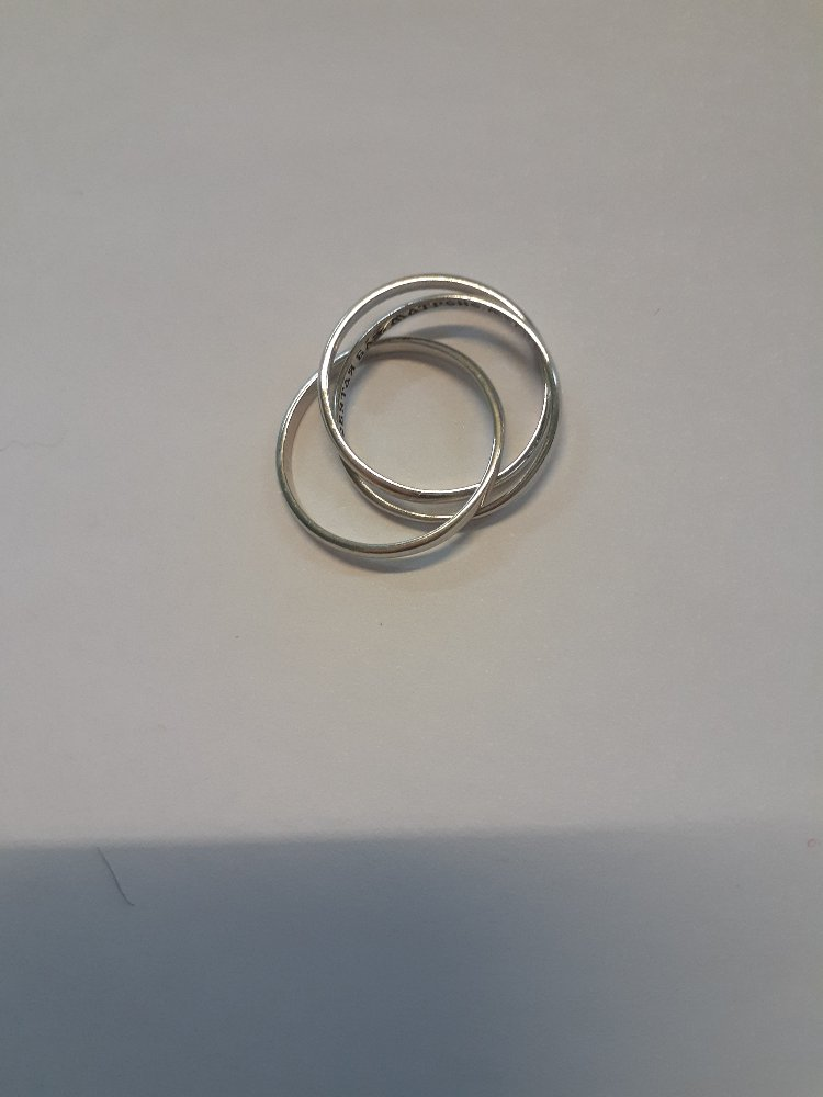 Кольцо  с обращением к матронушке