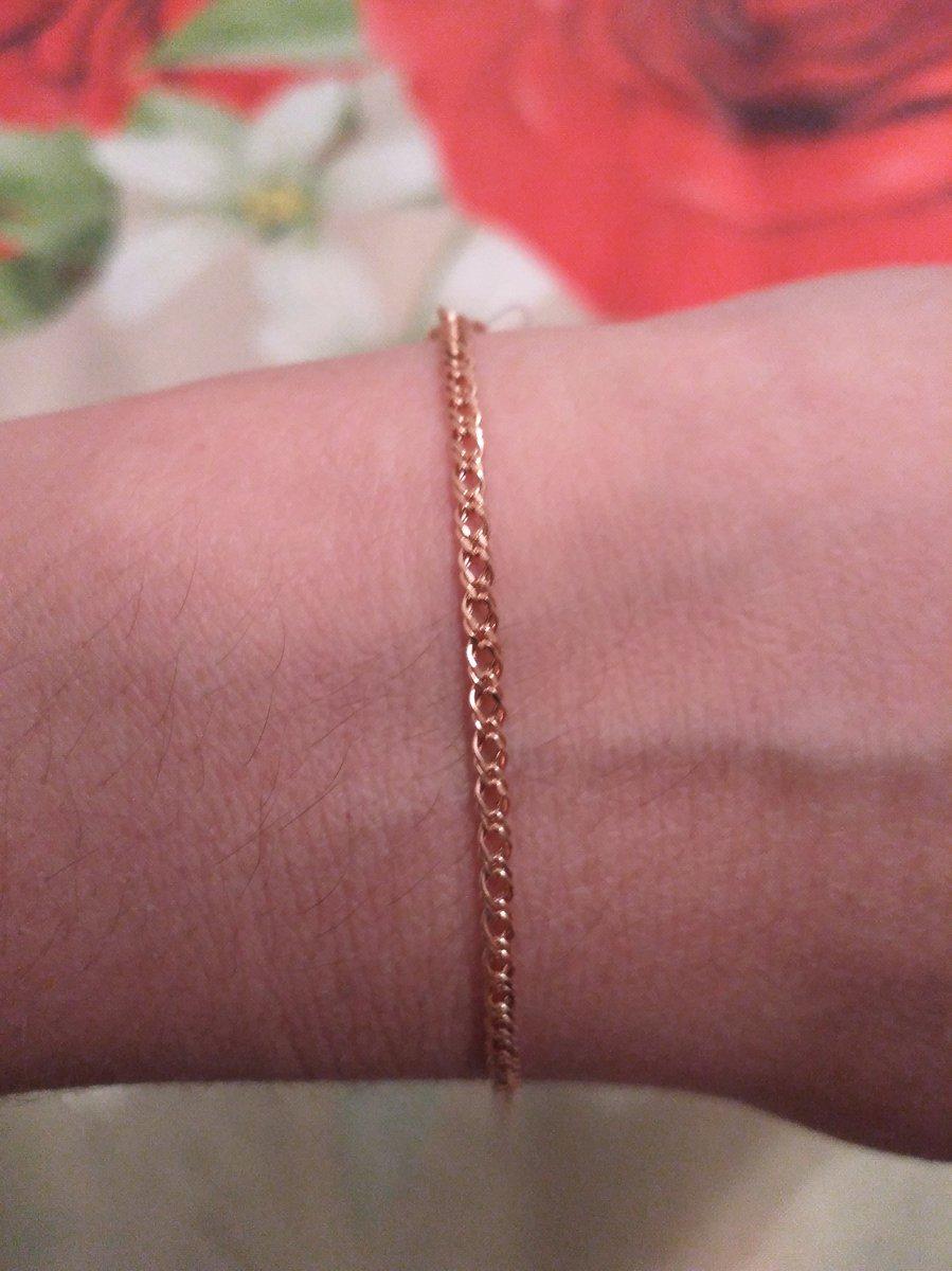 Золотой браслет 💖