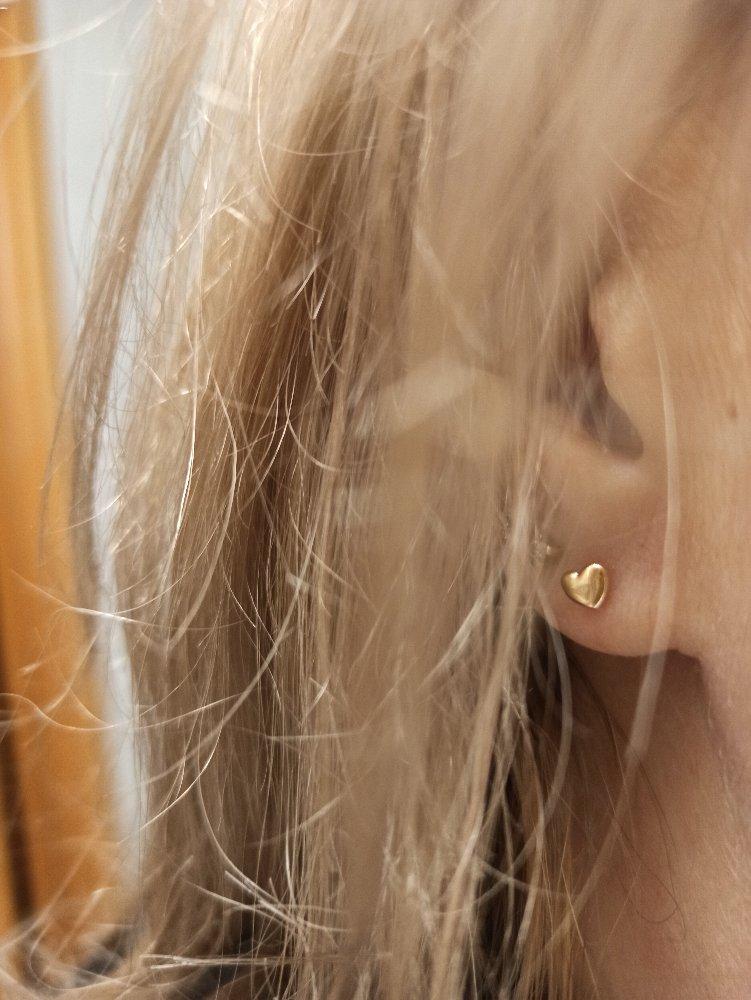 Золотые сердечки
