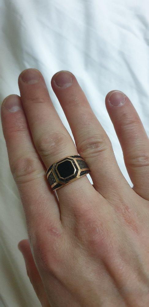 Достойный перстень!