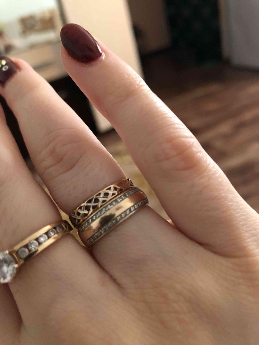 Кольцо покупали на свадьбу 😍