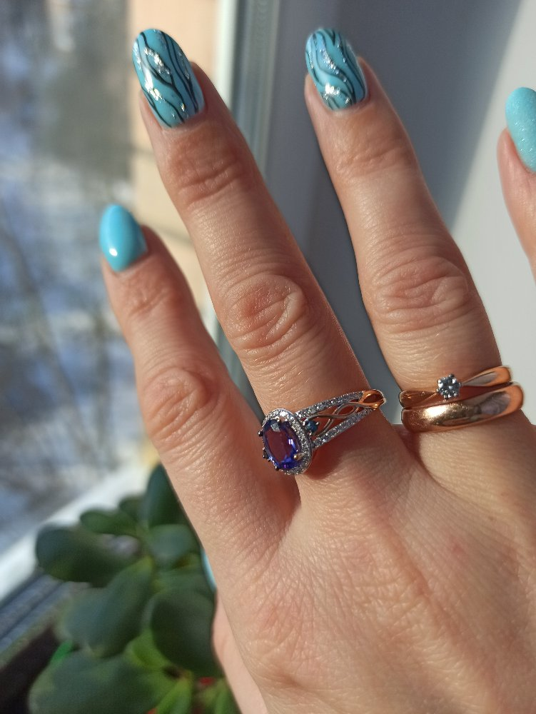 Самоё любимое кольцо к юбилею
