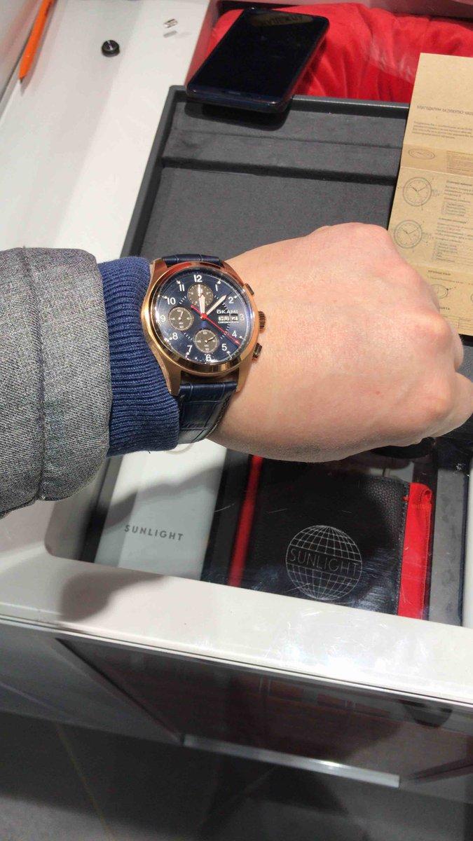 Часы наручные с хронографом