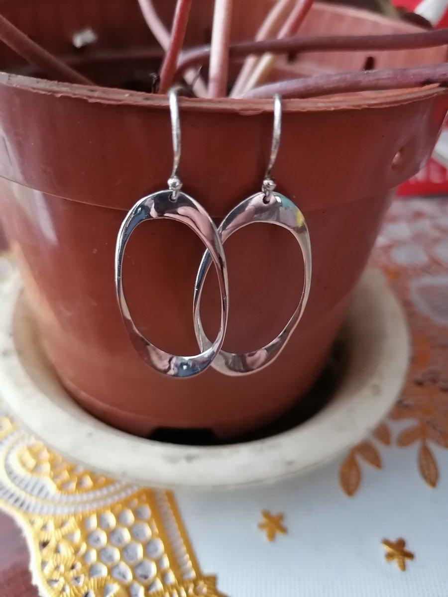 Серёжки серебряные
