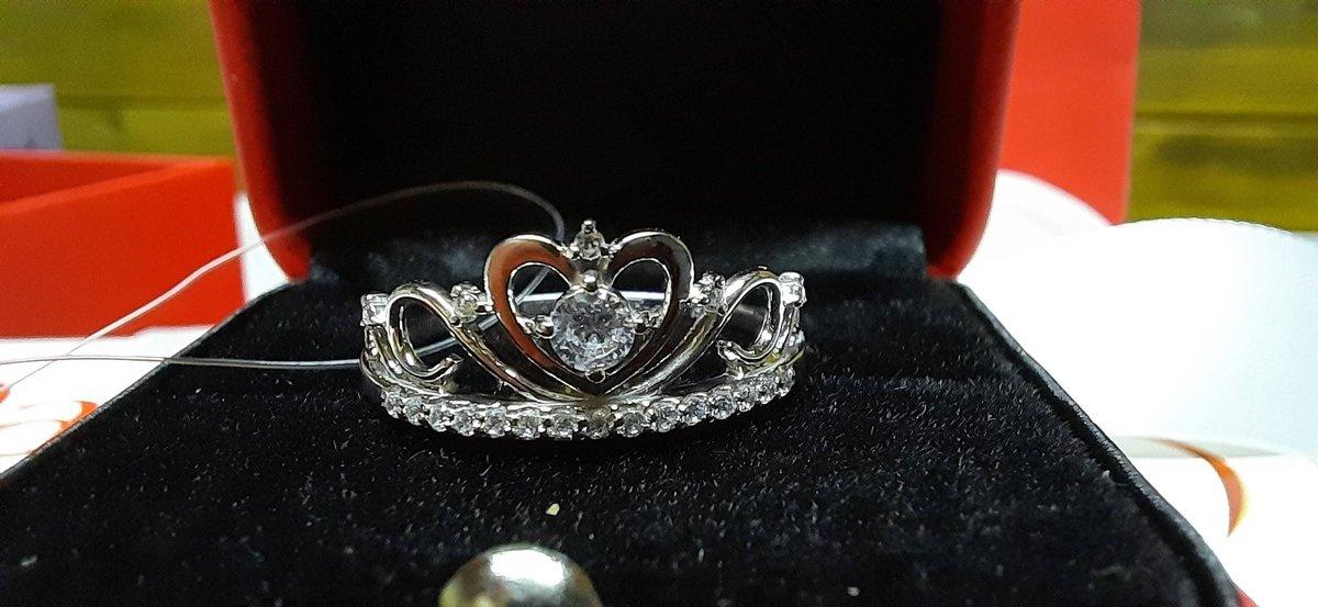 Изящное кольцо для золушки💖