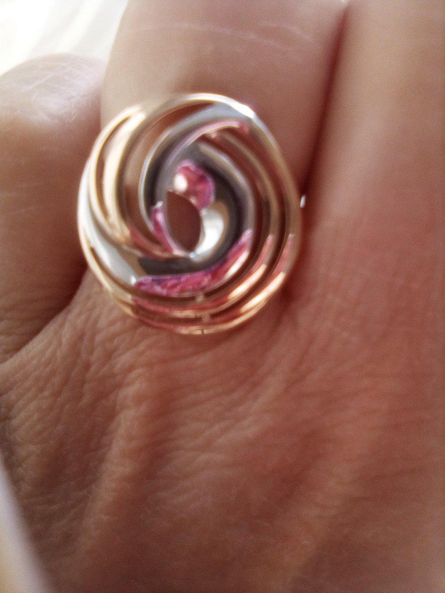 Кольцо золотое-золотое сияние