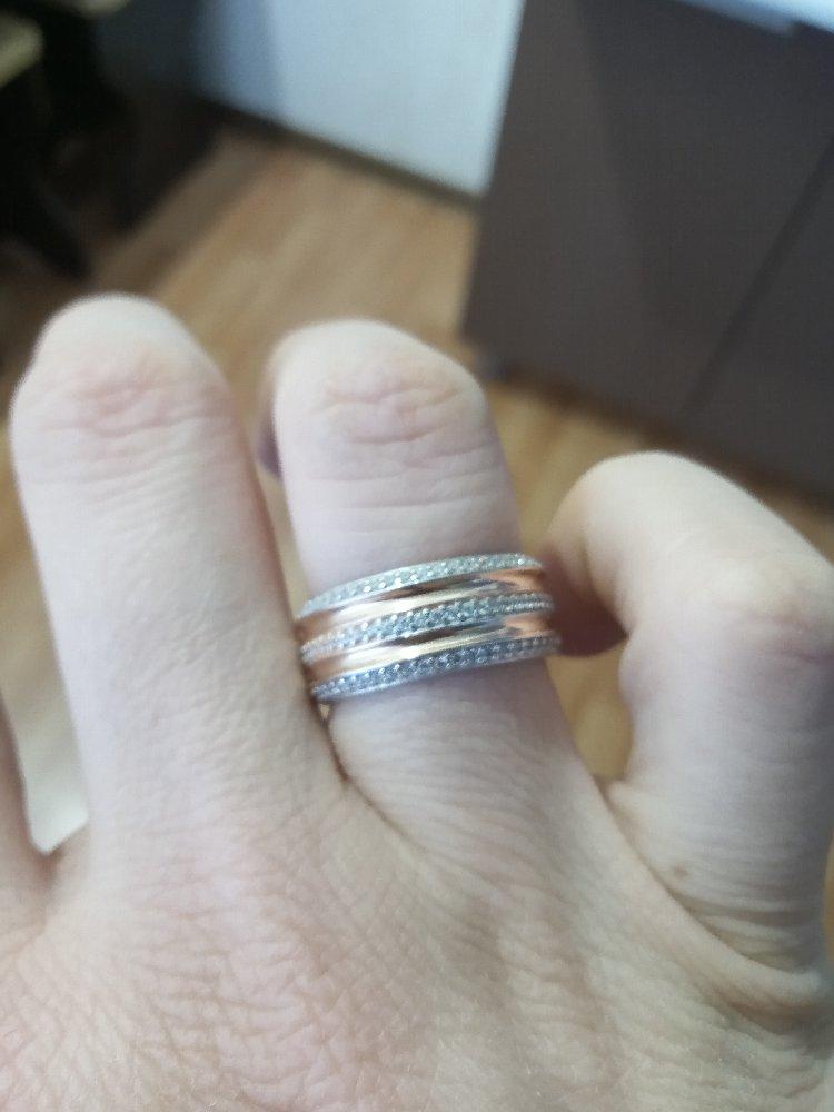 Испортила своё обручальное кольцо, взяла на замену это