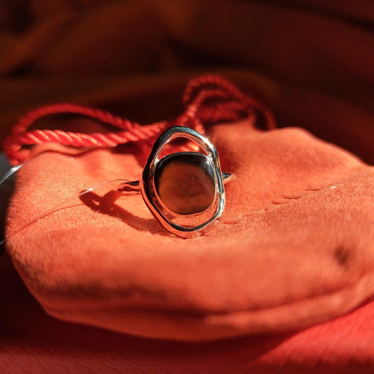 Кольцо с перламутром...