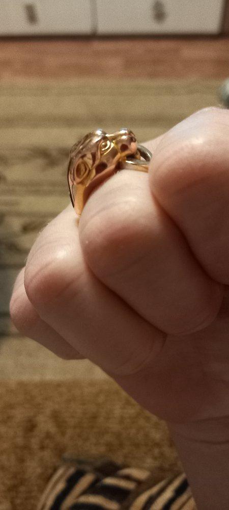 Замечательное кольцо,  оно мне очень нравится
