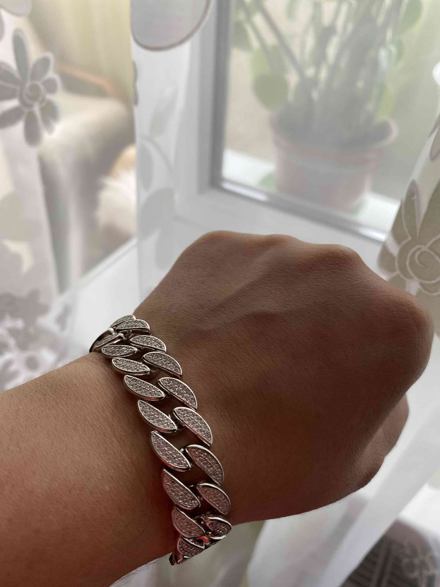 Серебяный браслет