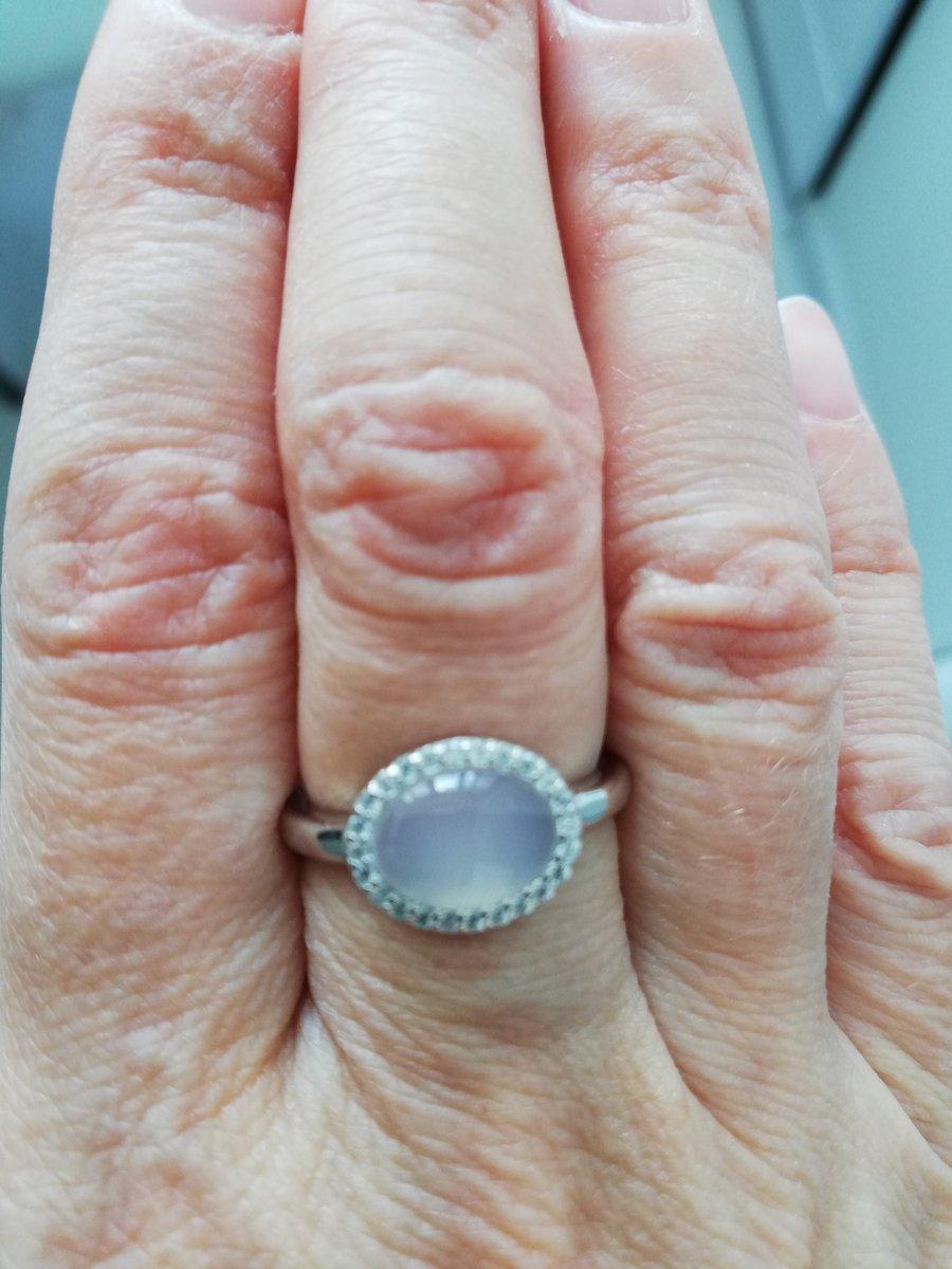 Белый агат в серебре