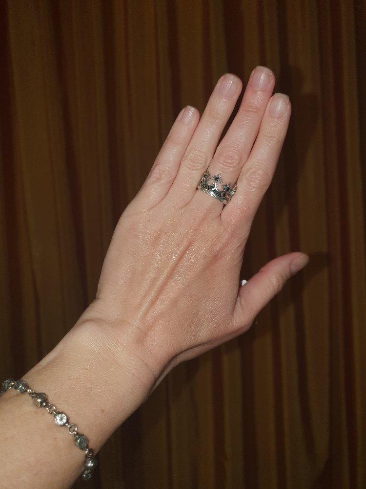 Оригинальное кольцо! люблю такие.