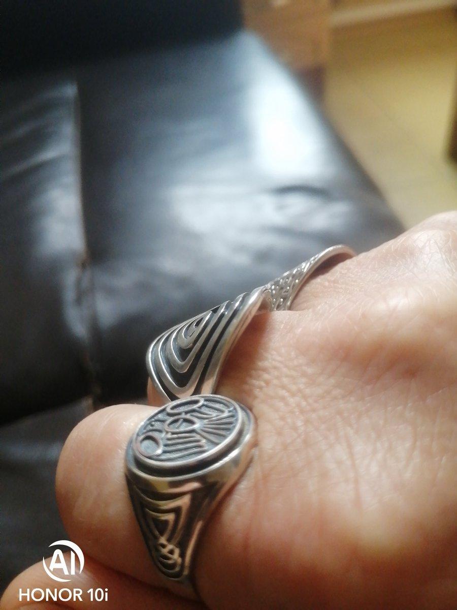Кольцо - оберег жаворонок 🕊️
