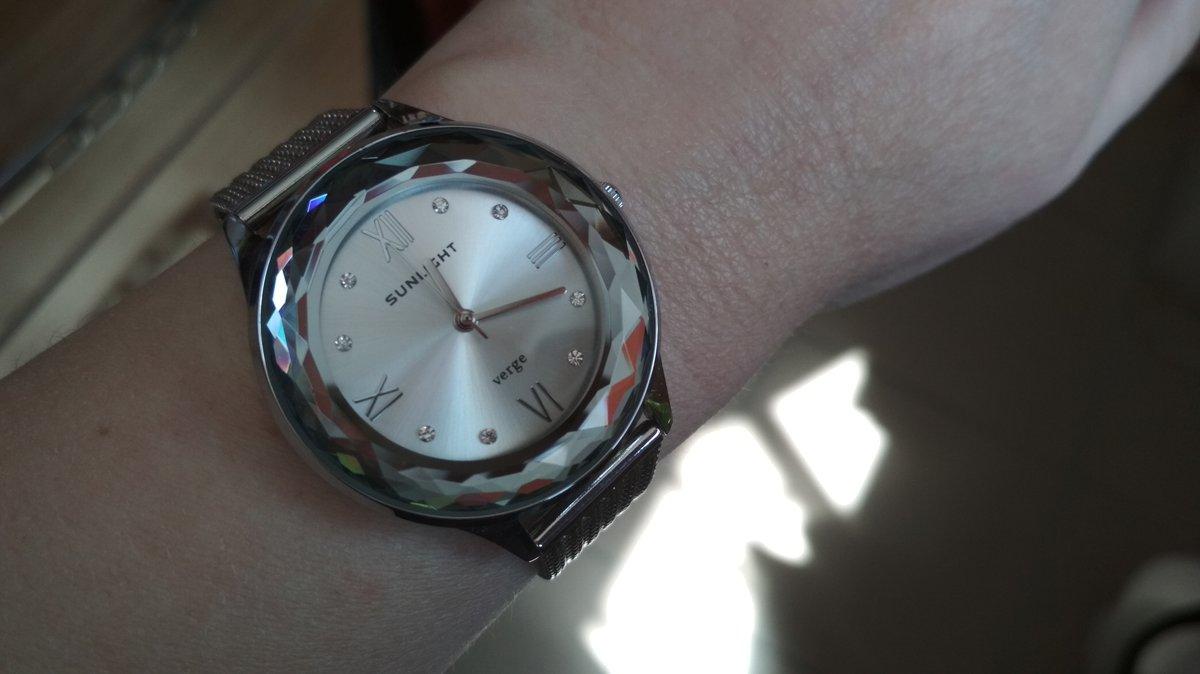 Теперь они мои любимые часы)