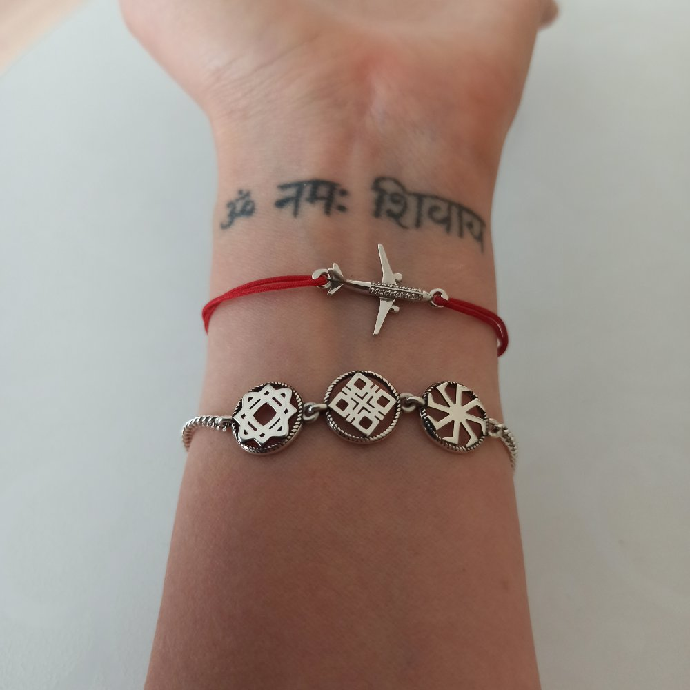 Чудесный браслет в этно стиле
