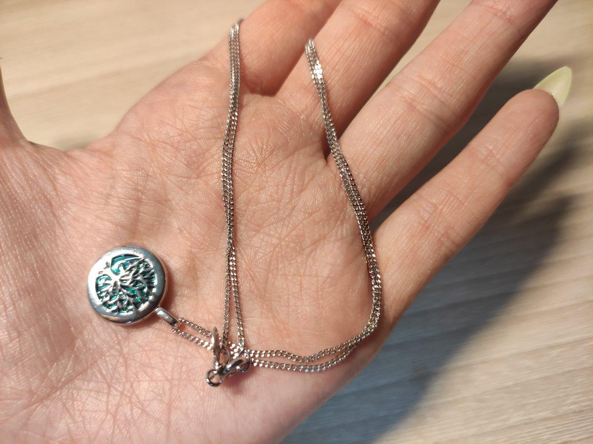 Прекрасная серебряная цепь
