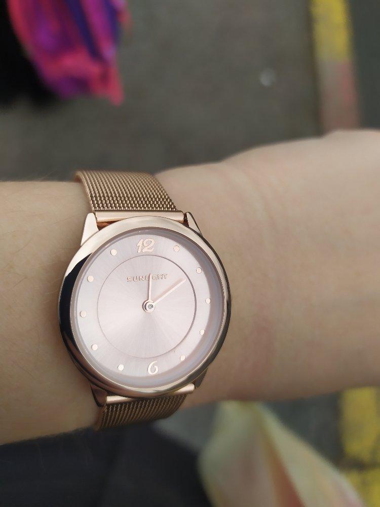 Часы из Sunlight