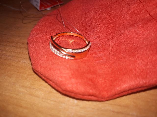 Замечательное и удобное в носке кольцо