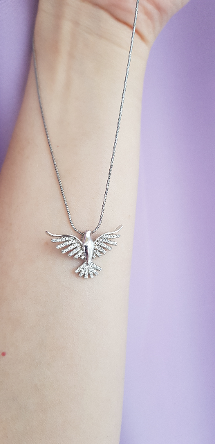 Серебряная птичка