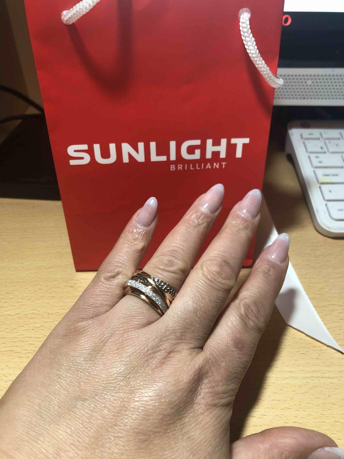 Дорожка осыпанная бриллиантами! мое кольцо мечты!