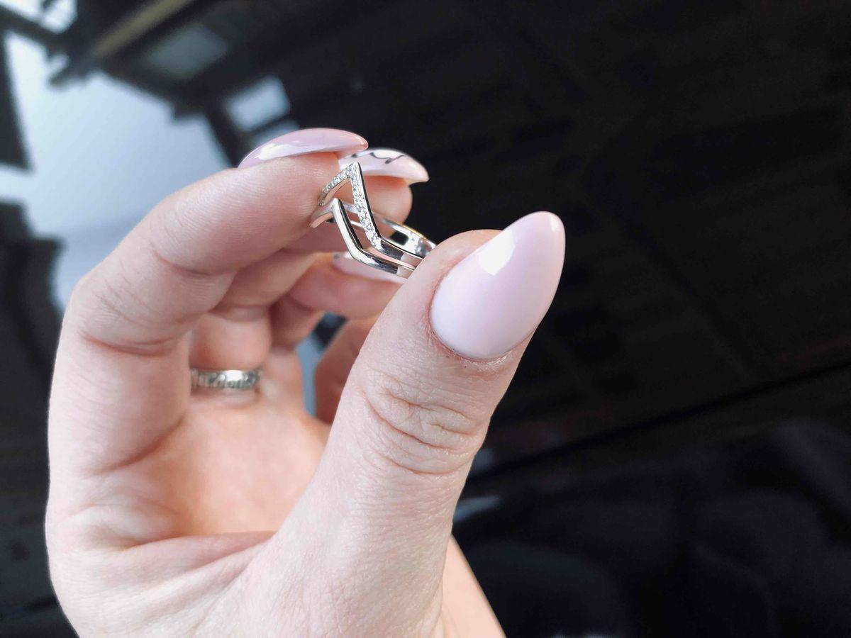 Колечко на большой пальчик