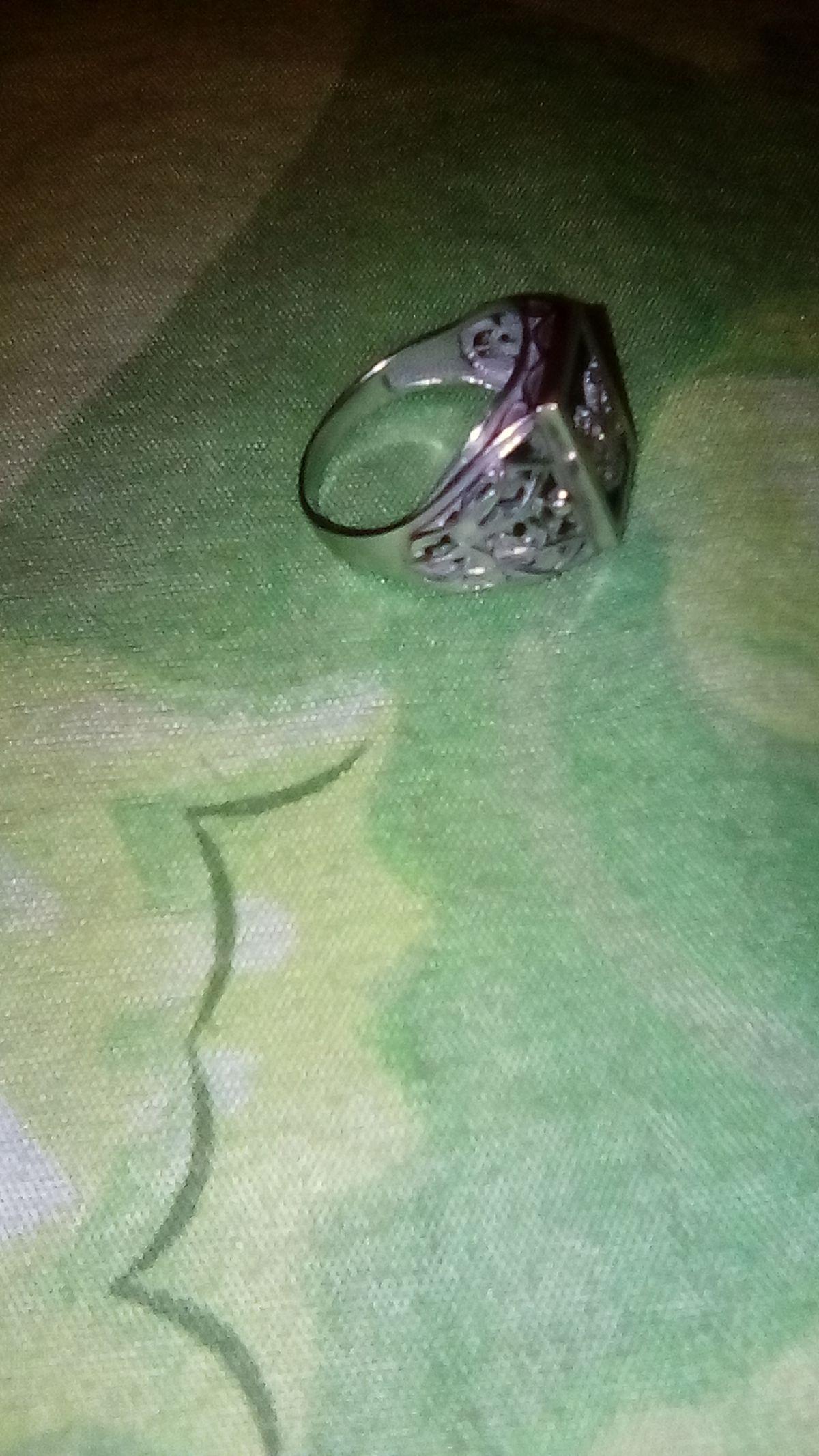 Перстень мужской герб России