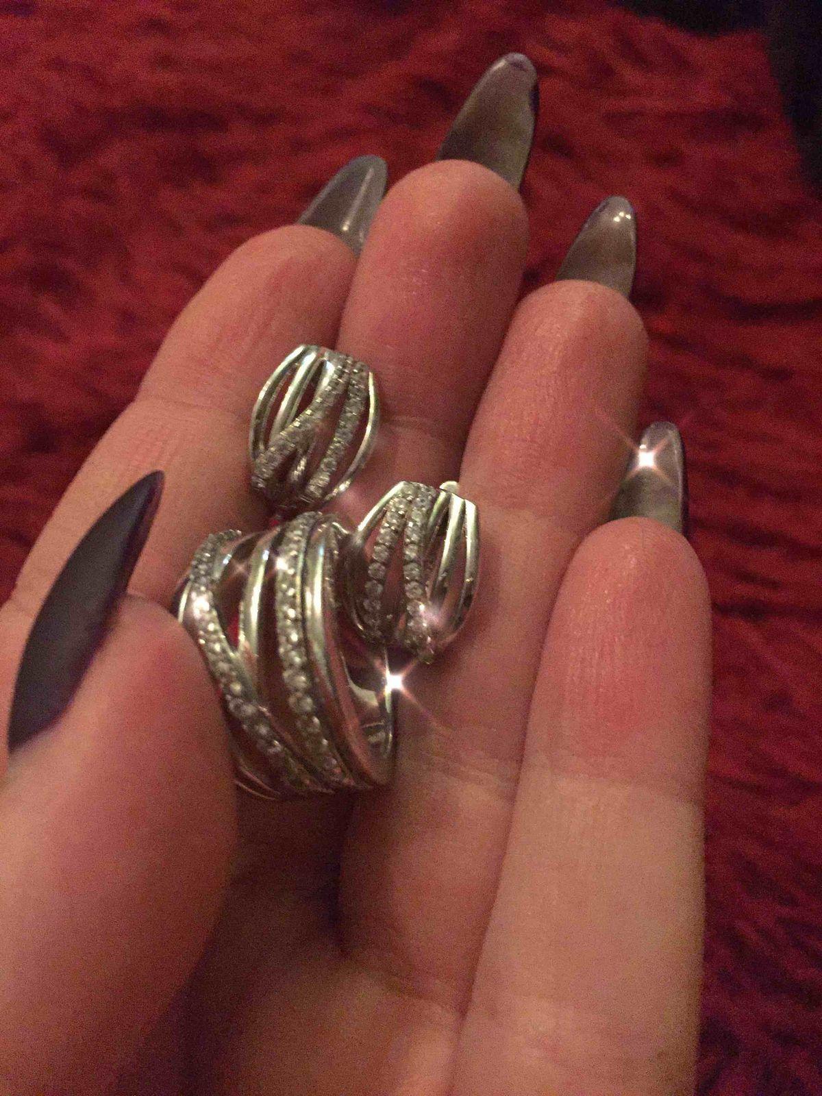 Широкое необычное кольцо))