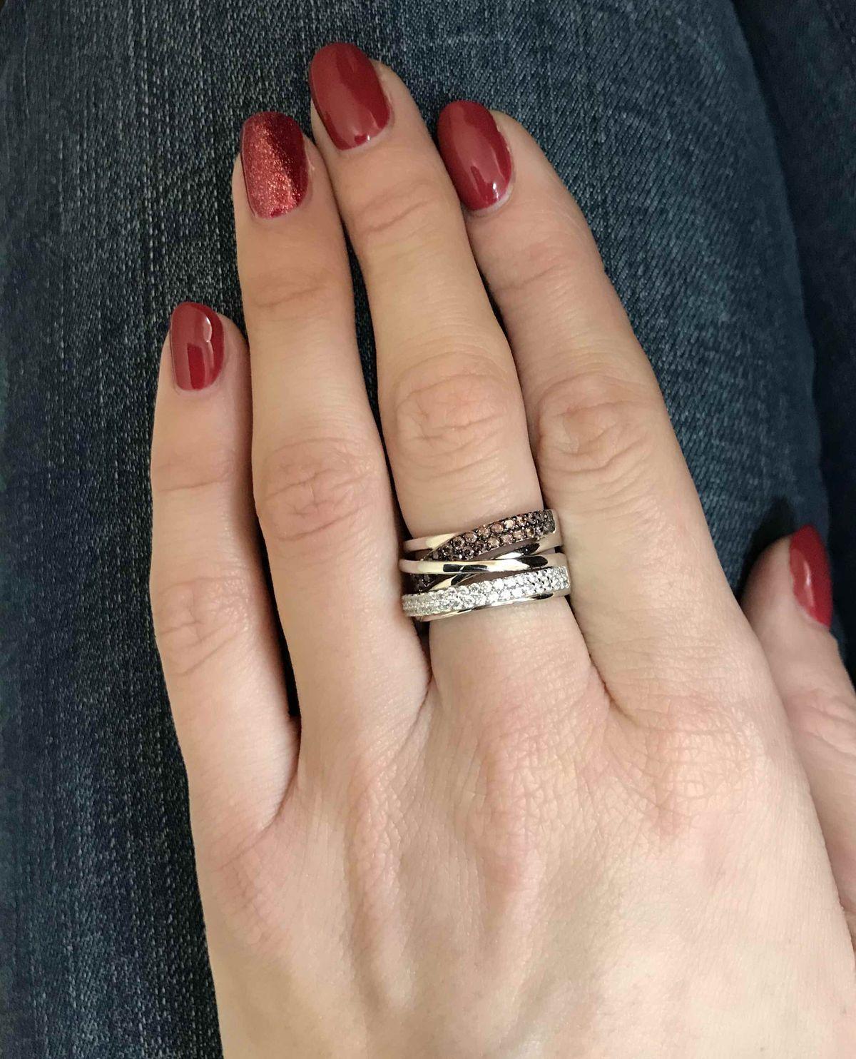 Яркое кольцо!